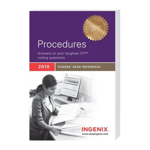 9781601512901: Procedures: 2010 Coders' Desk Reference