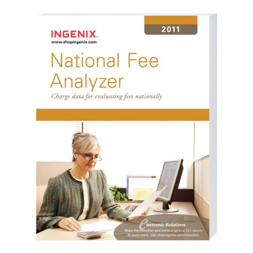9781601514691: National Fee Analyzer 2011: Charge Data for Evaluating Fees Nationally
