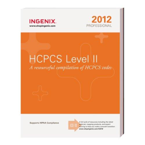HCPCS 2012 Level II Professional (HCPCS Level II Professional): Ingenix