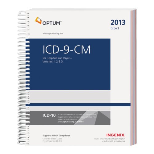 9781601516237: ICD-9-CM 2013 Expert for Hospitals and Payers Volumes 1, 2, & 3 (ICD-9-CM Expert for Hospitals & Payers)