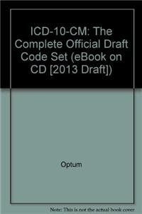 9781601516305: ICD-10-CM: The Complete Official Draft Code Set (eBook on CD [2013 Draft])