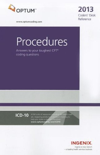 9781601516626: Coders' Desk Reference for Procedures 2013