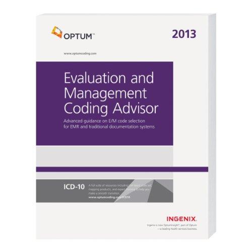 9781601517111: Evaluation and Management Coding Advisor 2013