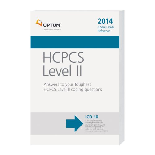 9781601518934: Coders' Desk Reference for HCPCS 2014 (Ingenix, HCPCS Level II Coder's Desk Reference)