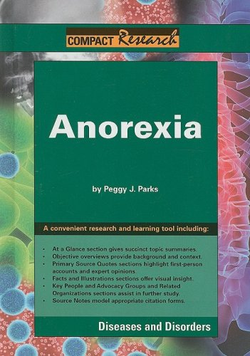 9781601520425: Anorexia (Compact Research: Diseases & Disorders)