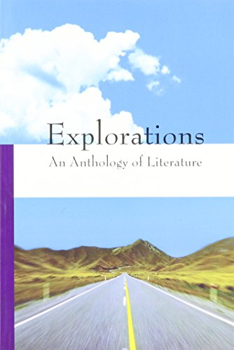 9781601530257: Explorations, an Anthology of Literature (Volume A)