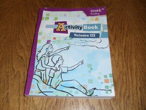 9781601530752: MARK12 Reading, Activity Book - Volume III. #10136.