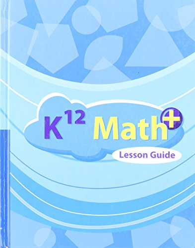 9781601530783: K12 Math+ Lesson Guide