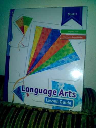 K12 Language Arts Lesson Guide Book 1: K12
