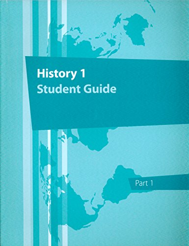 9781601533104: History 1st Grade, Part 1 Student Guide