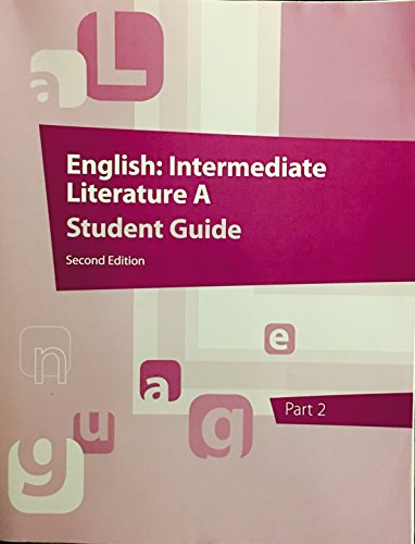 9781601534248: English: Intermediate Literature A Student Guide 2nd Edition