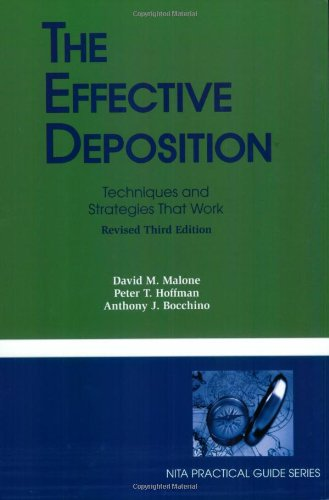 9781601560476: The Effective Deposition