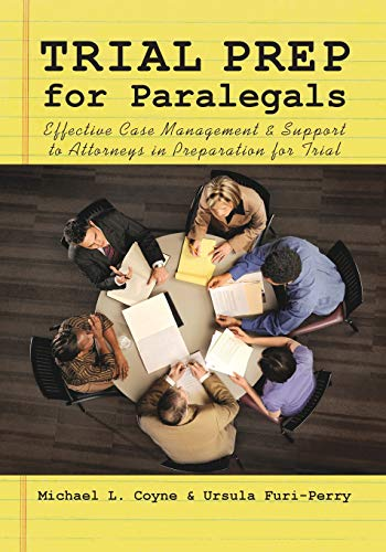 9781601560841: Trial Prep for Paralegals