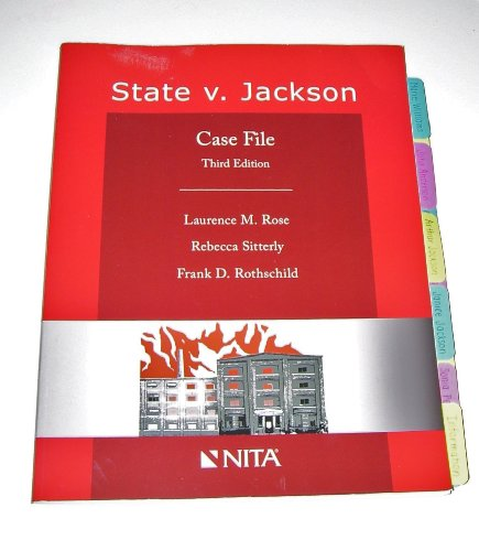 STATE V JACKSON-W/CD: Rose, Laurence M.;