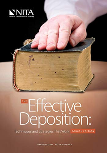 9781601561534: The Effective Deposition