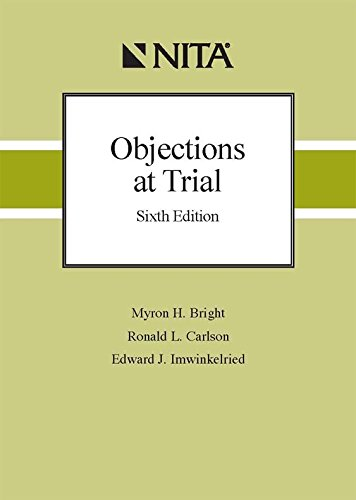 9781601562067: Objections at Trial