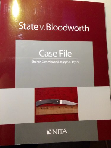 9781601562128: State v. Bloodworth
