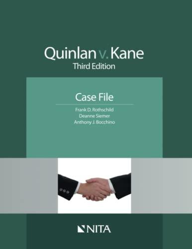 9781601562166: Quinlan V. Kane