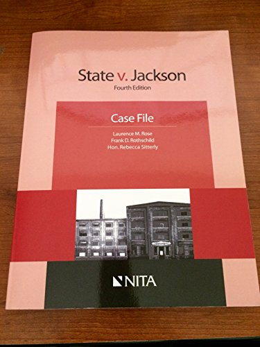 STATE V JACKSON-W/CD: Rose, Laurence M.