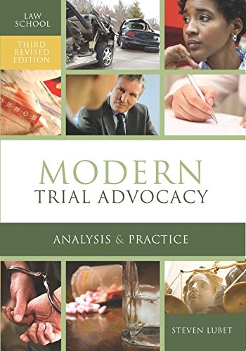 9781601563323: Modern Trial Advocacy: Law School Edition