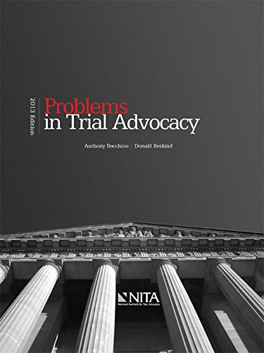 9781601563514: Problems in Trial Advocacy