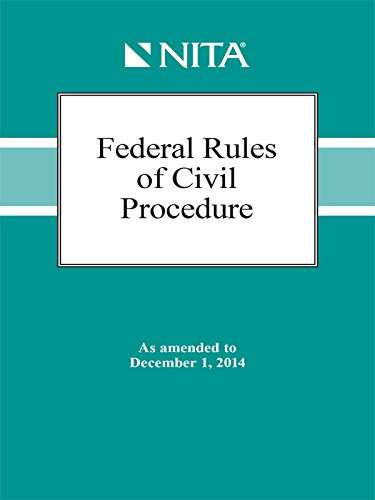 9781601564436: Federal Rules of Civil Procedure