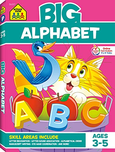 9781601590169: Big Alphabet P-K Workbook (Big Workbook)