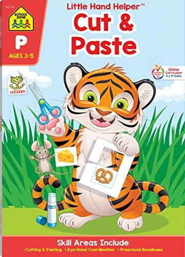 9781601591166: Preschool Practice Scissor Skills (Little Hand Helper Workbooks)
