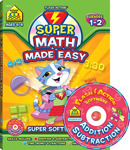 9781601594938: Super Flash Action Math Made Easy Software & Workbook