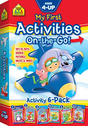 My First Activities On-The-Go (6-Pack of Little Busy Books)