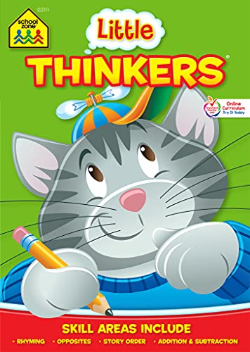 Kindergarten Little Thinker Workbook Ages 5-6: Joan Hoffman