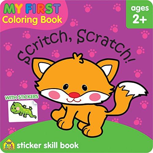 9781601598776: My First Coloring Book Scritch Scratch