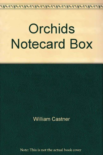 9781601600936: Orchids Notecard Box