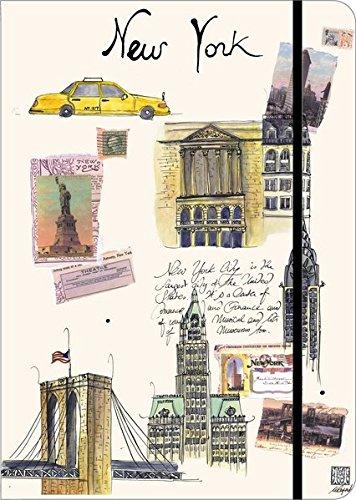 9781601604439: New York: Travel Journal Large