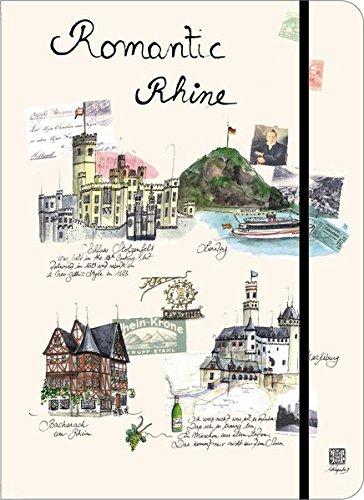 9781601605856: City Travel Journals Romantic Rhine Lg