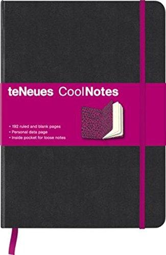 9781601607225: Black/Pink Leopard Coolnotes Medium