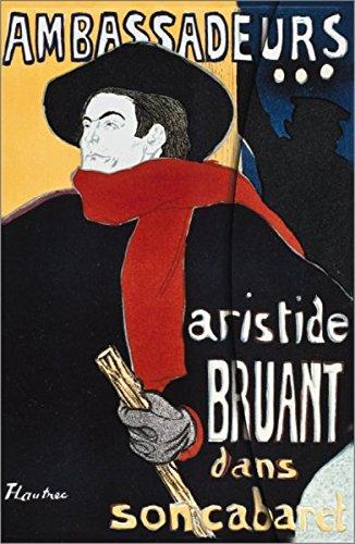 Art Nouveau: Aristide Bruant: Henri de Toulouse-Lautrec