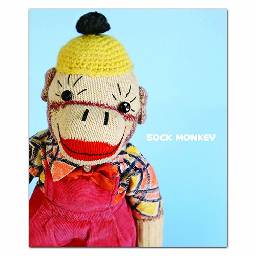 Sock Monkey: QuickNotes -- Greeting, Thank You & Invitation Cards in a reuseable flip-top box ...