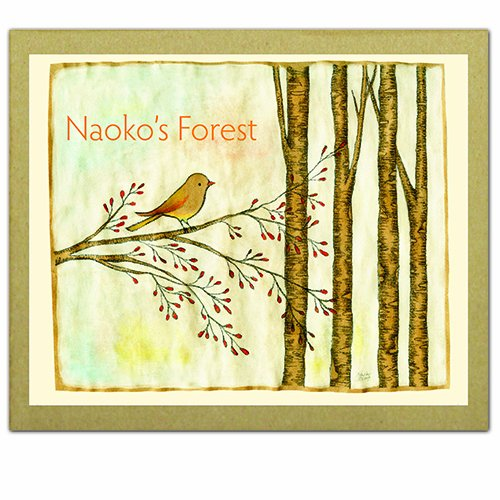 9781601608413: Naoko's Forest: GreenNotes -- environmentally friendly & uncoated Greeting, Thank You or Invitation Cards