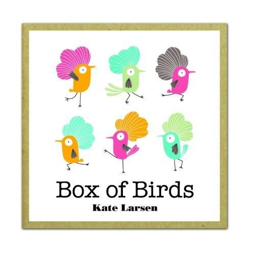 9781601608512: Box of Birds: GreenGift-Notes -- small gift encolsure cards printed on uncoated & ecologically friendly paper