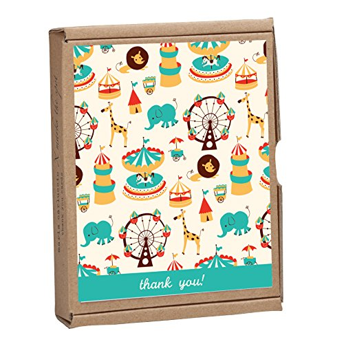 9781601608703: Circus Fun: Greenthanks: Eco Boxed Thank You Cards