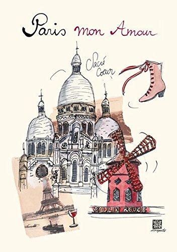 9781601609250: Rupert: Paris mon Amour Sacre Coeur Flexi Journal