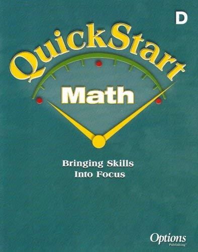 Quickstart Math, Grade 4/D: Triumph Learning LLC