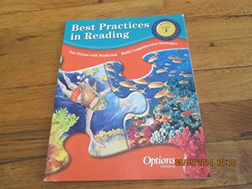 Best Practices in Reading Level F: Options Pub Inc