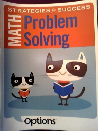 Strategies for Success Math Problem Solving Student: Triumph Learning LLC