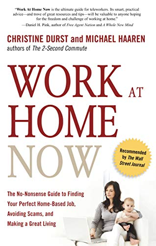 9781601630919: Work at Home Now: The No-nonsense Guide to Finding Your Perfect Home-based Job, Avoiding Scams, and Making a Great Living