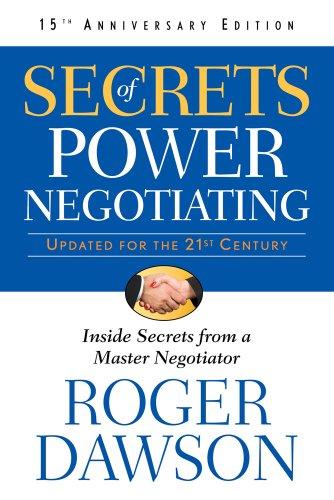 9781601631398: Secrets of Power Negotiating, 15th Anniversary Edition: Inside Secrets from a Master Negotiator