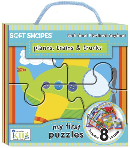 Innovative Kids Soft Shapes My First Puzzles Planes, Trains and Trucks (1601691181) by Innovative Kids