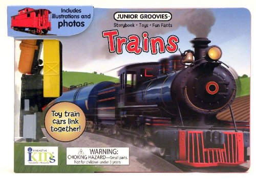 9781601691491: Junior Groovies: Trains (Storybook, Fun Facts and Toys)