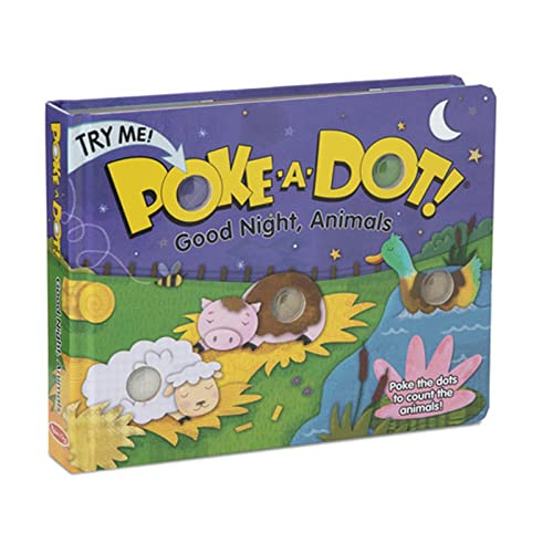 Poke A Dot Goodnight, Animals Book With Pop-A-Tronic Technology: iKids